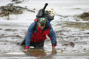 stuck in mud in bristol bay